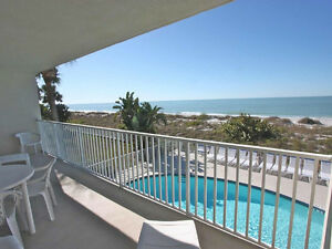 Large balcony & table, cable/ DVD Indian Rocks Beach