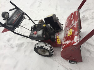 """Mtd 10hp 29"""" cut. Snow blower. trade your old blower"""