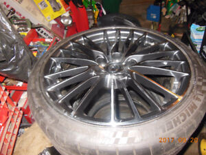 Forged wheels for RCF with tires