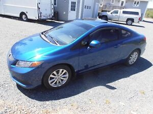 2012 Honda Civic Ex Sport Blue Moonroof
