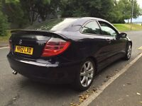 Mercedes C220 CDI ** Coupé ** 6 SPEED ** FSH ** SWAP ** P/X WELCOME