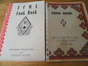vintage Ukranian cookbooks