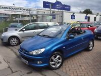 2003 (03) PEUGEOT 206cc 1.6. SUPERB CAR. VERY CLEAN. BARGAIN.