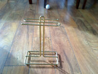 Brass Hand Towel/Facecloth stand (Huntington Hills)