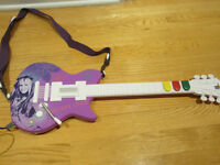 VIDEO GAME Hannah Montana Guitar