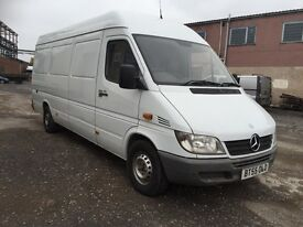 2006 low Millage Mercedes sprinter 311di lwb