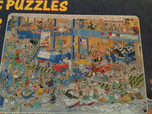 JAN VAN HAASTEREN BOX OF 3-1000 PIECES PUZZLES(CASSE-TETE) West Island Greater Montréal image 2