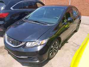 2015 HONDA CIVIC EX - CERTIFIED! WE PAY HST! 21,000KMS!!!