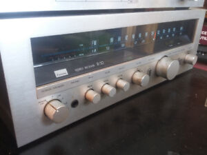 SANSUI R-30 WITH TAPE DECK D-100.