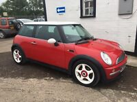 2004 MINI COOPER 1.6 MOT 1 YEAR EXCELLENT PX swap