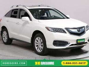 2016 Acura RDX Tech Pkg BLUETOOTH CUIR NAVIGATION CAMERA RECUL H