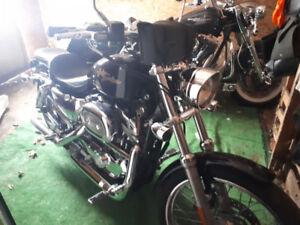 Moto Harley sportster
