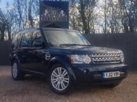 2012 12 LAND ROVER DISCOVERY 4 3.0 4 SDV6 XS 5DR AUTO DIESEL
