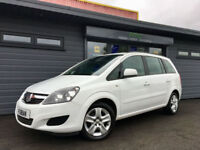 2103 63 Vauxhall Zafira 1.6i 16v ( 115ps ) Exclusiv **WHITE - FSH - 7 SEATER**