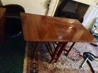 1960s drop leaf table