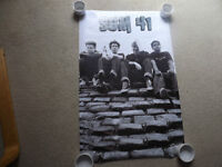 """FS: 2002 Funky """"Sum 41"""" (Group Photo) Poster"""