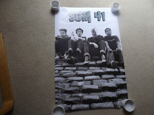 "FS: 2002 Funky ""Sum 41"" (Group Photo) Poster"