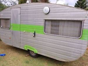 Vintage Franklin Caravelle Caravan project. Retro and original Jimboomba Logan Area Preview