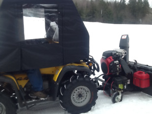 4wheeler and snowblower