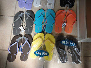 Old Navy women's flip flops slippers Size 6 and 7 Brand new London Ontario image 4