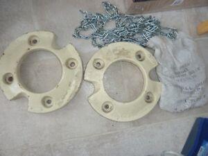 Garden Tractor Tire Chains & Cub Cadet Wheel Weights