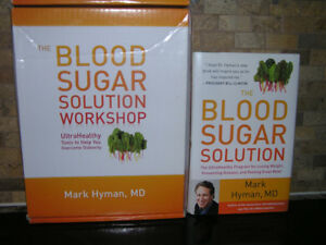 Blood Sugar Solution by Mark Hyman, MD + Kit For Diabetes