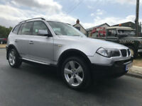 BMW X3 SPORT 2.0D 4X4 VERY NICE EXAMPLE MUST BE VIEWED
