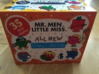 Mr Men Story Collection - 35 books, as new!