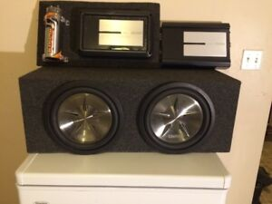 Clarion High End Car Audio, Subs, Box, Amps