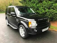 2009 (59) LAND ROVER DISCOVERY 3 2.7 TDV6 HSE AUTOMATIC 4X4 7 SEATER