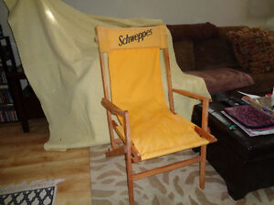 Schweppes old fashion lounge chair