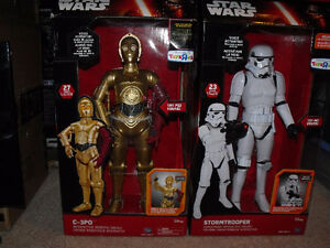star wars animatronic figures exclusives