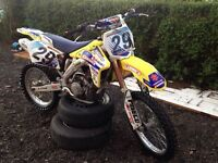 RMZ 450 motocross bike swap