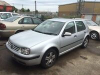 2004/54 Volkswagen Golf 1.9 Turbo Diesel 5 Door Hatchback Manual