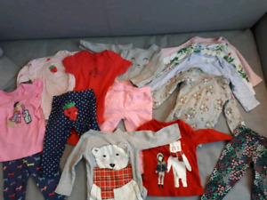 12 month girl clothing lot