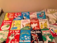 Classic Large Hardcover Dr Seuss books