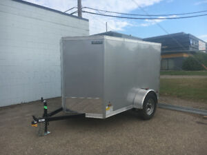 Brand New 2019 5x8 enclosed V-nose cargo/utility Trailer