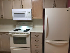 Oven Range, Fridge and Microwave for sale