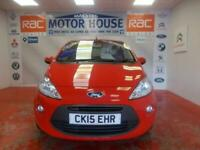 2015 Ford KA ZETEC(ONLY 19333 MILES) (ONLY 30.00 ROAD TAX) FREE MOTS AS LONG AS