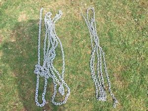 Three Lenghts Of Galvanized Chain