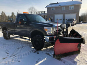 2015 Ford F-250 FX4 Super Duty Regular Cab with BOSS Plow
