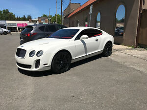 2010 Bentley Continental Super-sport Coupe (2 door)