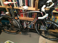 Specialized Roubaix Pro carbon w/ Mavic Cosmic Carbone PowerTap