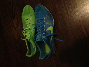Nike Blue/Green spikes