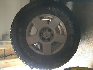Nissan Frontier rims and tires