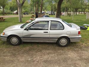 1993 Toyota Tercel Coupe (2 door)