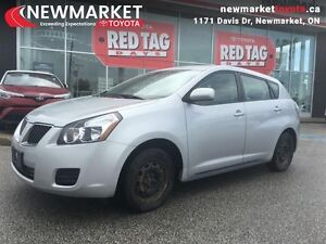 2009 Pontiac Vibe 4DR WGN FWD  Certified