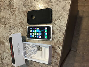 IPhone 6S in box with case