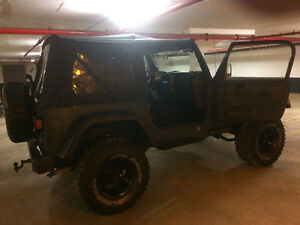 1999 Jeep Other Black Convertible