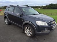 2007 Chevrolet Captiva 2.0VCDI 2 Owners Service History 7 Seater Full Leather Heated Heats 4X4 M/PX